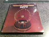 MLB Sports Memorabilia 1977 WORLD SERIES PROGRAM